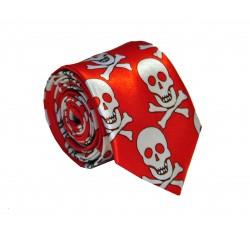 Crazy kravata (bílá s hvězdičkami)