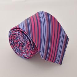 Ružovo - fialová kravata ANGELO di MONTI ADM-70