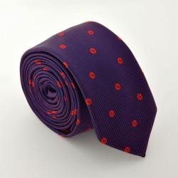 Fialová kravata ANGELO di MONTI ADM-79