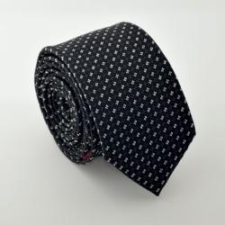 Černá kravata ANGELO di MONTI ADM-85
