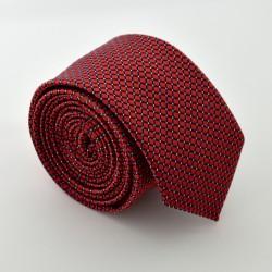 Tmavo červená kravata ANGELO di MONTI ADM-86