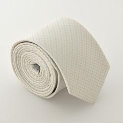 Krémová kravata ANGELO di MONTI ADM-84