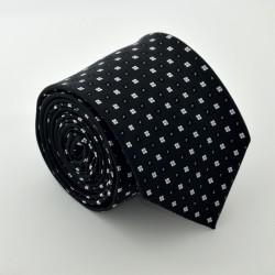 Čierna kravata ANGELO di MONTI ADM-89