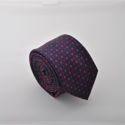 Tmavo modrá kravata ANGELO di MONTI ADM-91