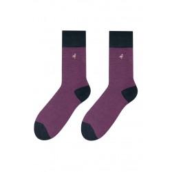 Pánske ponožky tyrkysové sa smajlíkmi 39/42
