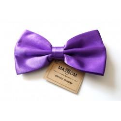 Pánsky motýlik MARROM - fialový