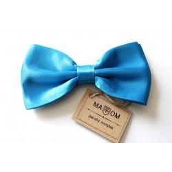 Pánsky motýlik MARROM - tyrkysovo modrý