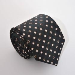 Hnědá kravata 4 ANGELO di MONTI