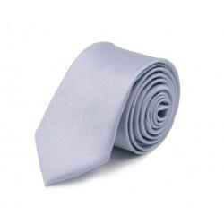 Levanduľová kravata SLIM - lesklá