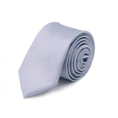 Jednobarevná SLIM kravata (levandulová)