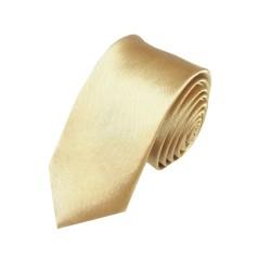 Medená kravata SLIM - lesklá