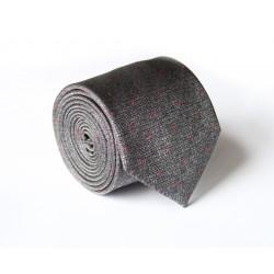 Šedá kravata ANGELO di MONTI ADM-99