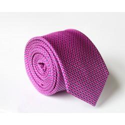 Fialová kravata ANGELO di MONTI ADM-103
