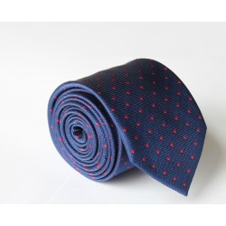Modrá kravata ANGELO di MONTI ADM-107
