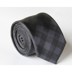 Čierna kravata ANGELO di MONTI ADM-110
