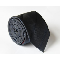 Čierna kravata ANGELO di MONTI ADM-112