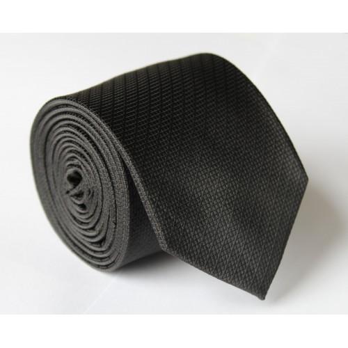 Čierna kravata ANGELO di MONTI ADM-113