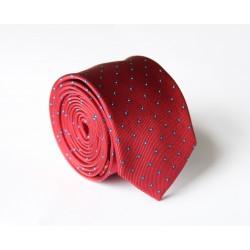 Vínová kravata ANGELO di MONTI ADM-119