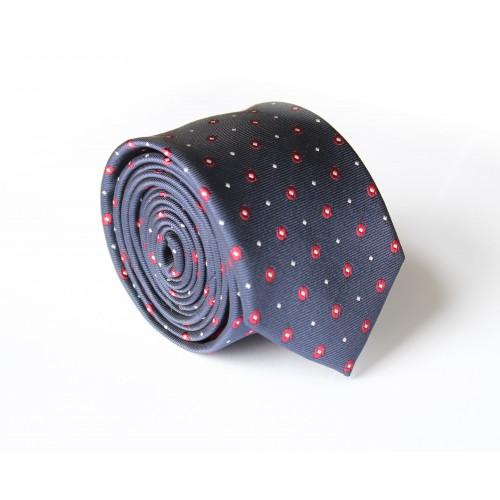 Modrá kravata ANGELO di MONTI ADM-121