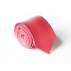 Růžově - červená kravata ANGELO di MONTI ADM-130