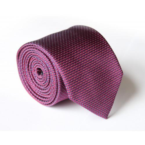 Fialová kravata ANGELO di MONTI ADM-132