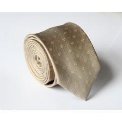 Krémová kravata ANGELO di MONTI ADM-134