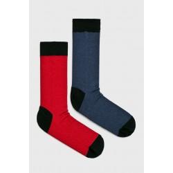 Pánske ponožky Medicine 2 páry - červeno / modro / čierne 43/45