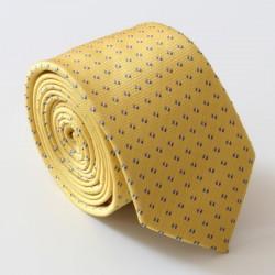 Žltá kravata ANGELO di MONTI ADM-140