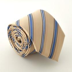 Krémová kravata 3 ANGELO di MONTI
