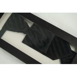 Svadobná kravata s vreckovkou SK-009