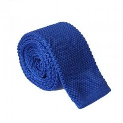 Pletená kravata MARROM - modrá