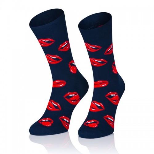 Pánske ponožky MARROM - kiss 44/46