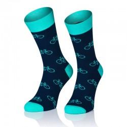 Pánske ponožky MARROM - byciklu 41/43