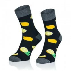 Pánske ponožky MARROM - citróny 41/43
