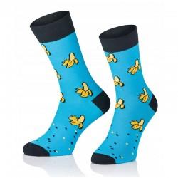 Pánske ponožky MARROM - banány 41/43