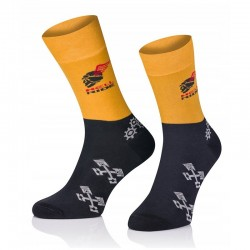 Pánske ponožky MARROM - Hell Ride 41/43