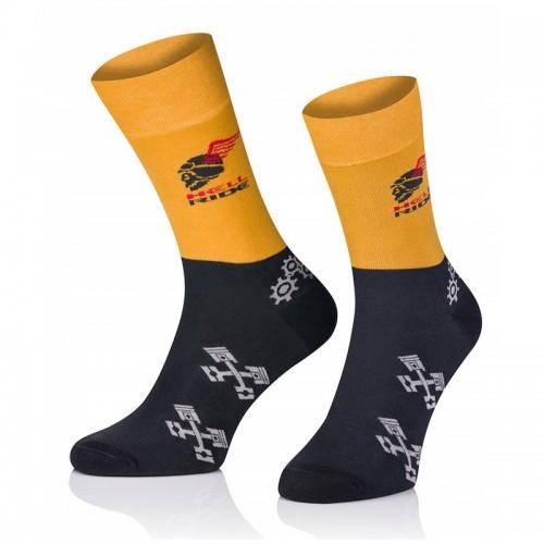 Pánske ponožky MARROM - Hell Ride 44/46