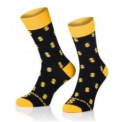 Pánske ponožky MARROM - doláre 41/43
