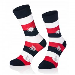 Pánske ponožky MARROM - marine 44/46