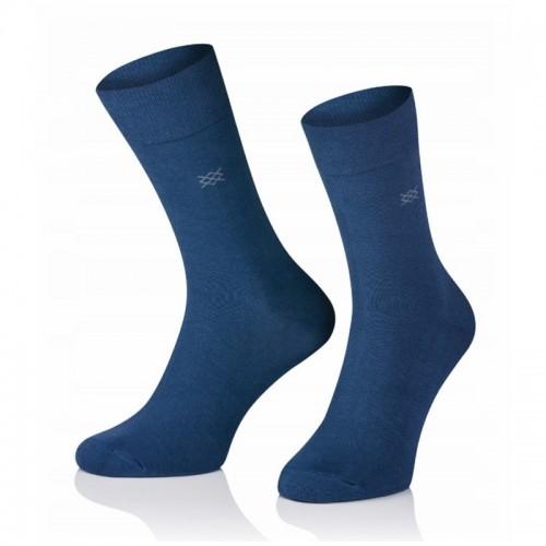 Pánske ponožky MARROM - modré 41/43