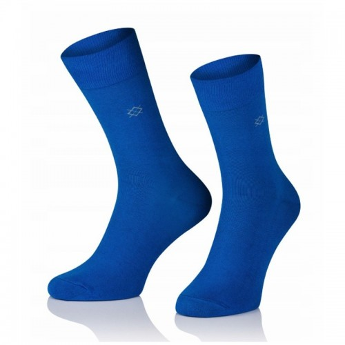 Pánske ponožky MARROM - modré II 44/46