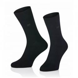 Pánske ponožky MARROM - čierne 44/46