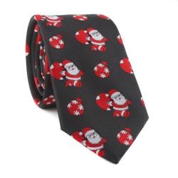 Vánoční kravata MARROM - modrá 11