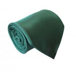 Tmavě zelená kravata - lesklá