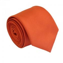 Oranžová kravata ANGELO di MONTI ADM-149