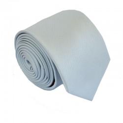 Šedá kravata ANGELO di MONTI ADM-150