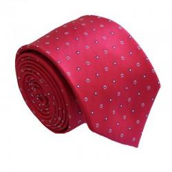 Červená kravata ANGELO di MONTI ADM-153
