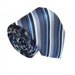 Šedá kravata ANGELO di MONTI ADM-154