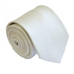 Krémová kravata ANGELO di MONTI ADM-155