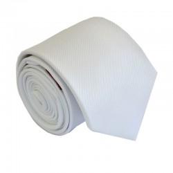 Biela kravata ANGELO di MONTI ADM-158